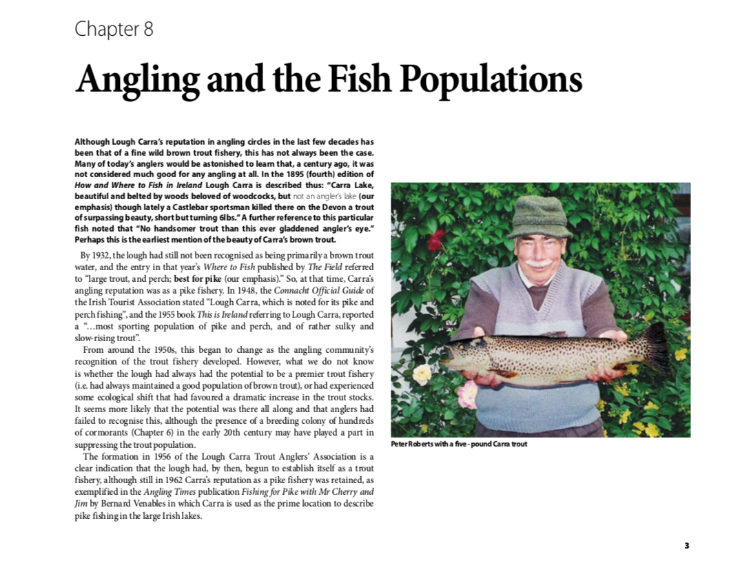 Lough Carra Angling and Fish Populations Chapter 8