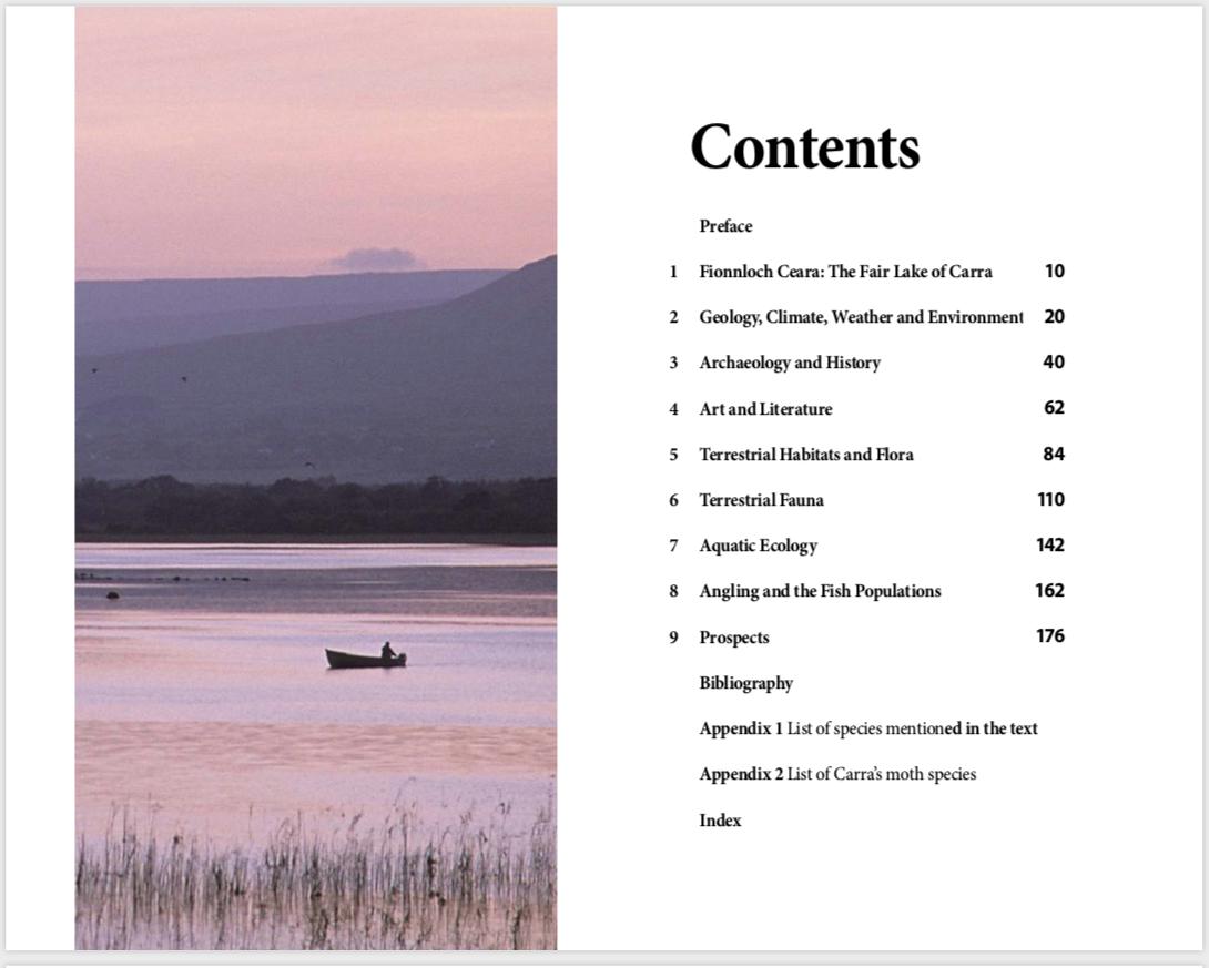 Lough Carra Contents Page