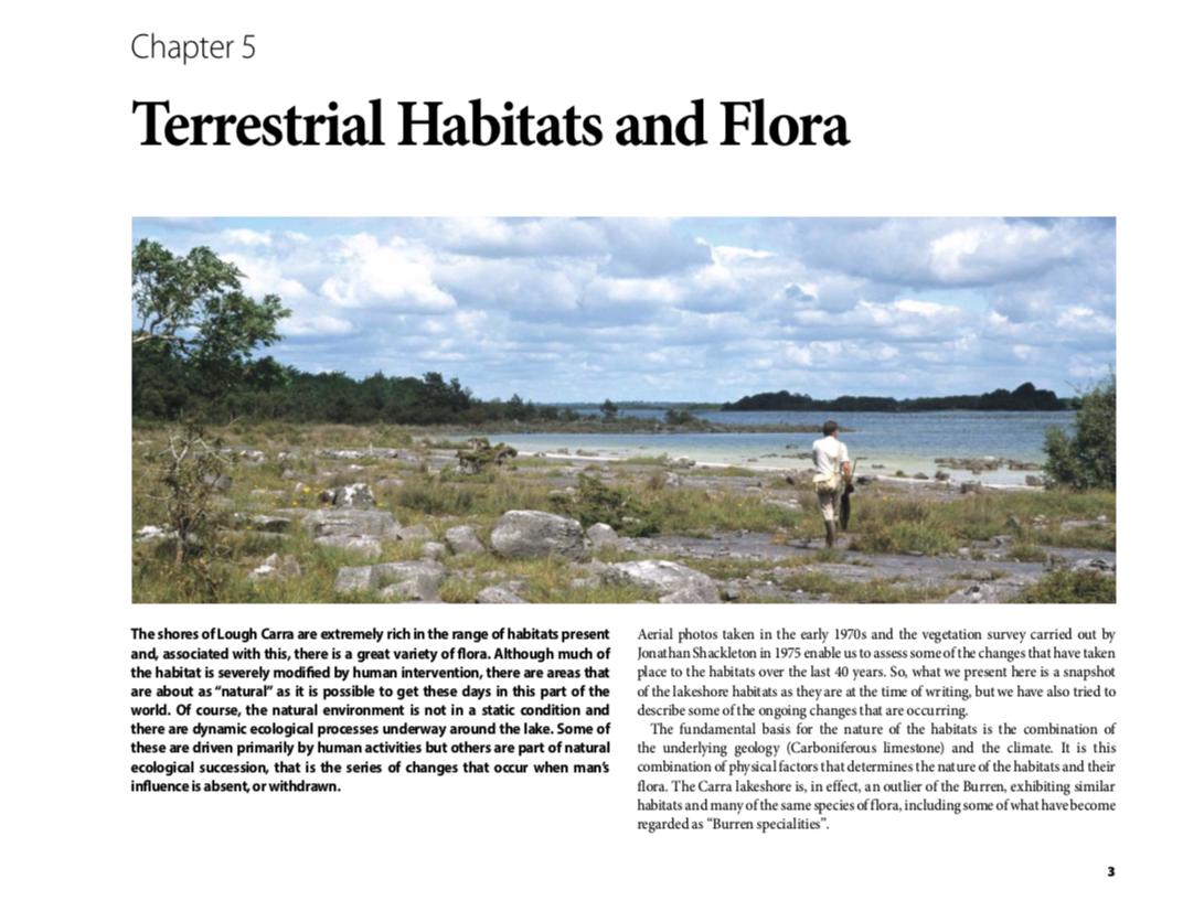Lough Carra Terrestrial Habitats and Flora Chapter 5