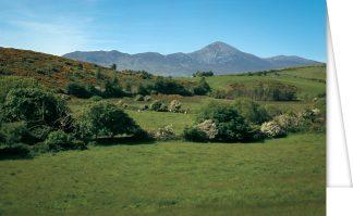Croagh Patrick landscape view