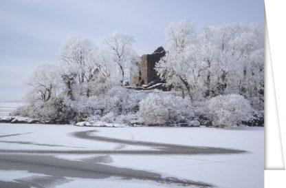 Castle Carra in winter