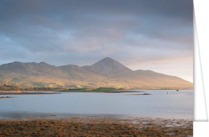 Croagh Patrick from Rosbeg greetings cards