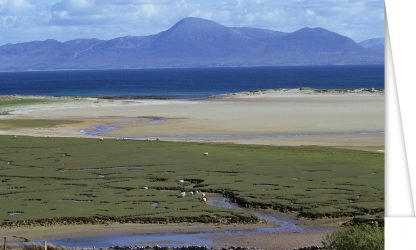 Croagh Patrick across Clew Bay