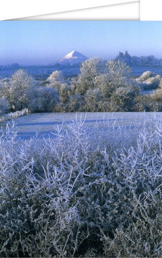 Croagh Patrick in winter
