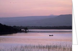 Summer Evening on Lough Carra