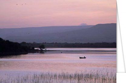 Summer Evening on Lough Carra