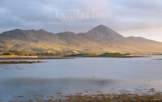 Croagh Patrick from Rosbeg Print