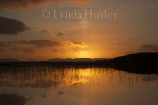 Lough Carra Sunset Print