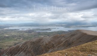 Lough Conn from Nephin Print